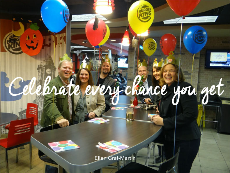 Celebrate Every Chance You Get