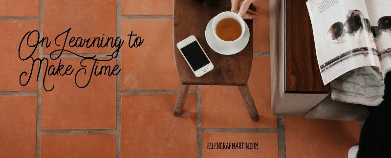 Learning to make time - Ellen's Picks