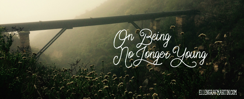 On being no longer young