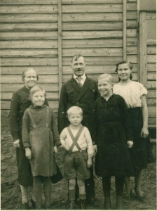dad's family in Germany - Grateful