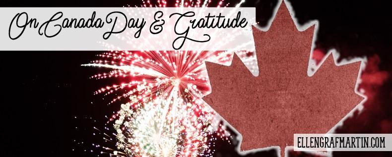 Canada Day Gratitude