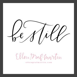 Be Still: Word of the Year