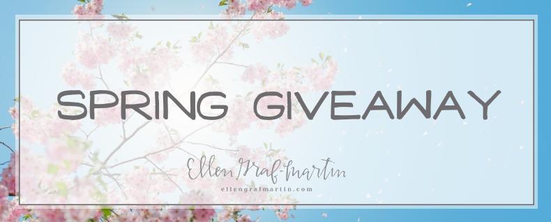 EllenGrafMartin.com Spring Giveaway