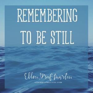 Remembering To Be Still IG
