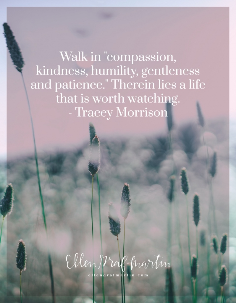 Tracey Morrison - Clothe yourselves with...