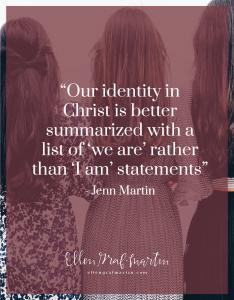 EP Member Spotlight ~ Jenn Martin: A Distorted Identity quote