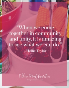 EP Member Spotlight ~ Hollie Taylor: Bringing Back the Meal Train quote